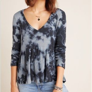Anthropologie NWT Jill Baby Doll Top Made in USA M